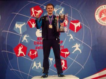 kickboxing-Volodymyr-Demchuk-podium