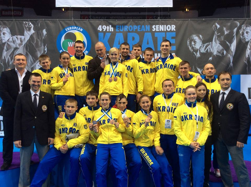 karate_tampere2014_ukraine_team